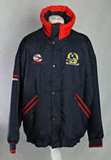 Williams Renault Nigel Mansell Coat Jacket 90's Canon Formula 1 Navy Size L!