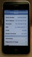 iPhone 3GS 32GB Blk AT&T UNLOCKED Fair Condition Fully Functional Read Below