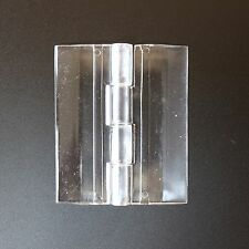 Clear Acrylic Plastic Piano Continuous Hinge 64mm Perspex Transparent x 1