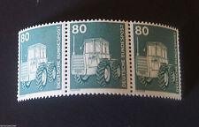 Briefmarken aus der BRD (1980-1989) mit Technik-Motiv