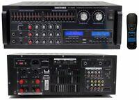 Singtronic KA-1500EQ Professional 2000W Mixing Amplifier EQ, Optical & Bluetooth