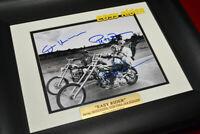 Easy Rider JACK NICHOLSON, HOPPER, PETER FONDA Signed AUTOGRAPH, UACC, DVD, COA