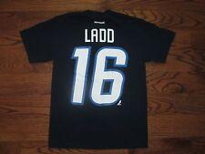 (Small) Men's Reebok Winnipeg Jets Hockey NHL Andrew Ladd #16 T-Shirt