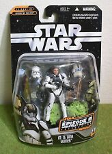 STAR WARS CARDED SAGA COLLECTION AT-TE TANK GUNNER REVENGE OF THE SITH