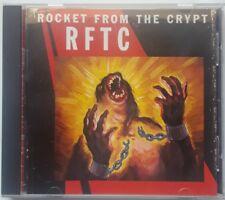 Rocket from the Crypt RFTC CD 1998 Interscope Records Punk Alt Rock Speedo Promo