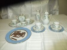 Herend Extended Romantic NYON Coffee or Tea Variable Set In Mint Condition