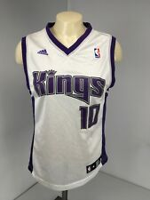 SACRAMENTO KINGS MIKE BIBBY OFFICIAL NBA JERSEY ADIDAS YOUTH SIZE M 10-12
