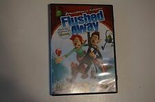 Flushed Away (DVD, 2007, Widescreen; Sensormatic) DreamWorks Family Animated