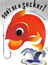 Ilustración Anzuelo colorido Ventosa Guerra mensaje arte cartel impresión lv1692