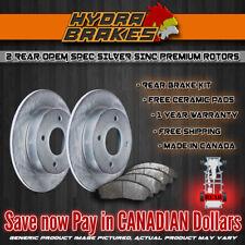 FITS 2004 2005 CHEVROLET VENTURE OE BLANK Brake Rotors CERAMIC SLV R