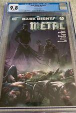 Dark Nights: Metal 4 CGC 9.8 DC 02/18 Mattina Variant Cover A