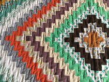 Винтажное лоскутное одеяло