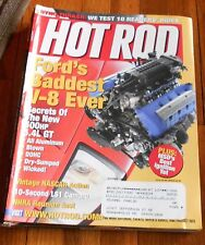 HOT ROD MAGAZINE Nov. 2003- Ford's baddest V-8, LS1 Camero, 10 Readers rides