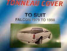 BRAND NEW TONNEAU UTE TARP COVER SUIT FORD  XD, XE, XF, XG XH,