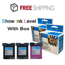 3 Pk 63XL Ink Cartridges for HP Envy 4512 4516 4520 4522 OfficeJet 3830 4650