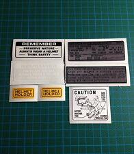 HONDA CB500F K0,K1,K2HONDA CB500 FOUR HONDA 500/4 1971-1973 DECALS