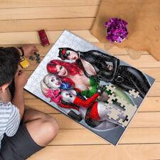Heart 201/500/1000 Pieces Jigsaw Puzzles Ivy Harley Queen Cat Women Batman Game