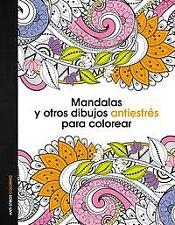 Mandalas y otros dibujos antiestrés para colorear. ENVÍO URGENTE (ESPAÑA)