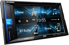 "NEW JVC KW-V25BT 6.2"" Touchscreen Double Din BLUETOOTH DVD Player Car Stereo"