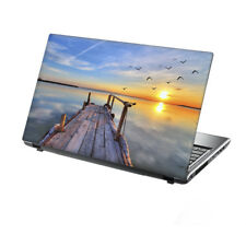 """15.6"""" TaylorHe Laptop Vinyl Skin Sticker Decal Protection Cover Sunset Bay 2251"""