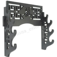 Wall Mounted Samurai Sword Katana Display Holder Stand Hanger Bracket 1-5 Tiers