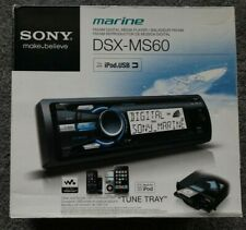 Sony DSX-MS60 Marine MP3 Digital Media Receiver with iPod Adaptor & Front AUX