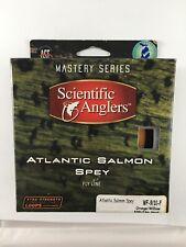 SCIENTIFIC ANGLERS ATLANTIC SALMON SPEY WF-9/10-F ORANGE/WILLOW FLY FISHING LINE