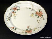 "MIKASA HERITAGE stoneware  CAPISTRANO pattern ~ Round Platter / Chop Plate ~ 12"""