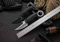 New CNC Full Tang G10 Handle D2 Blade Survival Hunting Karambit Claw Knife C47