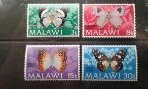 Malawi #199-203 MNH butterfly e1911.5415