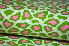 ROBERT KAUFMAN USA Designerstoff 0,5 m Rainbow Leopard Tiger ROCKABELLA grün