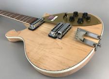 Rickenbacker 660 Mapleglo E-Gitarre mit gemaserten Ahornkorpus