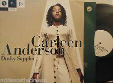 """CARLEEN ANDERSON ~ Dusky Sappho EP ~ 12"""" Single PS LTD ED #2964"""