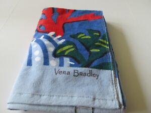 "Vera Bradley Large 33"" x 66"" Beach Towel Seascape Print New With Tag"
