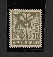 GERMANY RUSSIAN ZONE 30pf STADT BERLIN MNH (Z1)