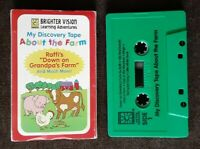 My Discovery Tape About the Farm Brighter Vision Learning Children's