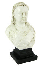 Queen Victoria Mini Bust Statue English Marble Finish