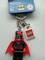 GENUINE LEGO MARVEL SUPERHEROES BATWOMAN KEYRING KEYCHAIN