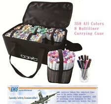 Copic marker Sketch all color & Multiliner & carrying case,lot of colors set