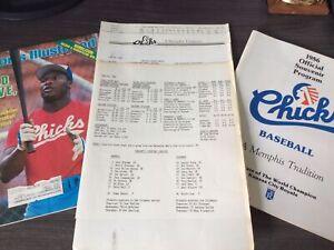 1986 Bo Jackson First Game Media Kit Sports Illustrated Magazine Memphis Chicks