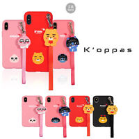 Official Kakao Friends Love Strap Phone Case Cover For Samsung Galaxy iPhone