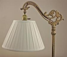 Bridge Floor Lamp Shade Deep Empire with Wide Box Pleat Tailor Made Lampshades