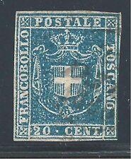 ITALY -   TUSCANY #20  USED  - 1860