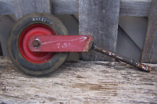 """GRAVELY TRACTOR HARD RUBBER TIRE 8X1.75 WITH 7.5 """" FORK 8"""" LONG SHAFT 3/4"""" THICK"""