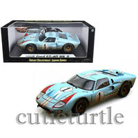 Shelby Collectibles 1966 Ford GT 40 MKII #1 1:18 After Race Dirty Ken Miles 405