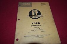 Ford Major Diesel & Power Major Diesel Tractor I&T Shop Manual BVPA