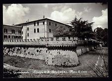 GROTTAFERRATA ROMA CARTOLINA ABBAZIA DI S. NILO MURA DI CINTA FG VG 1957 MECOZZI
