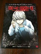 DEATH NOTE PARTE 3 - 3 DVD - EPISODIOS 26 A 37 - 325 MIN - SELECTA VISION