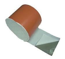 Cinta Butilo rojo 30cm ancho 10ml - impermeabilización remates cubierta
