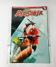 Comic Block Nerd Block EXCLUSIVE Red Sonja Issue #1 Variant Cover Art Comic